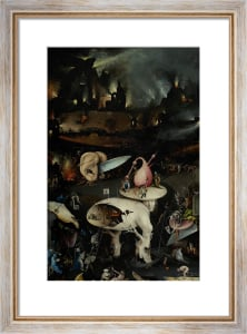 The Garden of Earthly Delights: Hell, c.1500 by Hieronymus Bosch