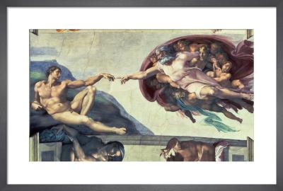 Creation of Adam by Michelangelo