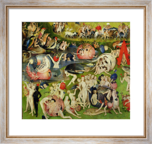 The Garden of Earthly Delights c1500 Art Print by Hieronymus