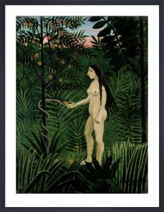 Eve, 1906 by Henri Rousseau