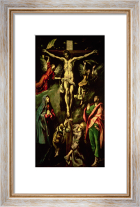 The Crucifixion, c.1584 by El Greco