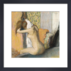 After the Bath Woman Drying her Neck, 1898 by Edgar Degas