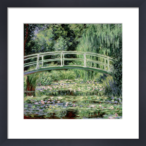 White Waterlilies, 1899 by Claude Monet