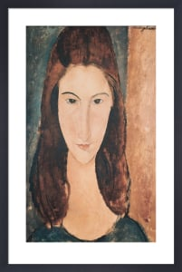 Portrait of a Young Girl (Jeanne Hebuterne) by Amedeo Modigliani
