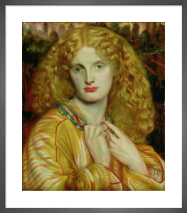 Helen of Troy, 1863 by Dante Gabriel Rossetti
