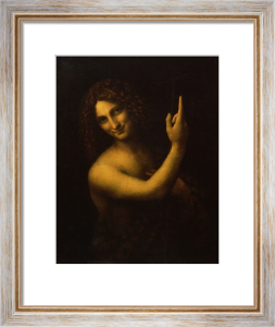 St. John the Baptist 1513 by Leonardo da Vinci