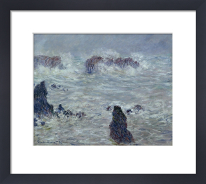 Storm off the Coast of Belle-Ile 1886 by Claude Monet