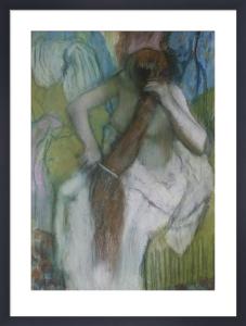 Woman Combing her Hair, 1887 by Edgar Degas