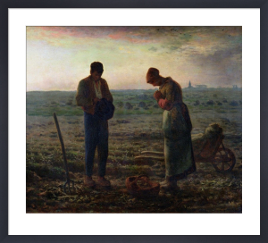 The Angelus, 1857 by Jean Francois Millet