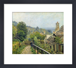 Louveciennes, or The Heights at Marly, 1873 by Alfred Sisley