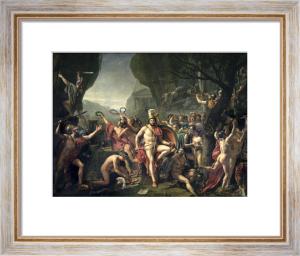 Leonidas at Thermopylae 1814 by Jacques-Louis David