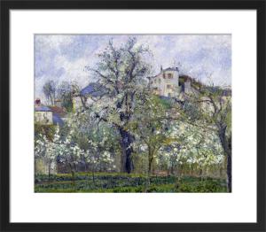 The Vegetable Garden, 1877 by Camille Pissarro