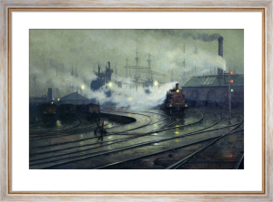 Cardiff Docks, 1896 by Lionel Walden