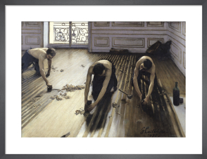 The Floor Scrapers, 1875 by Gustave Caillebotte
