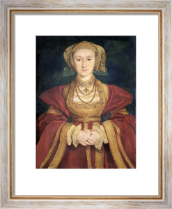 Portrait of Anne of Cleves 1539 by Hans Holbein The Younger