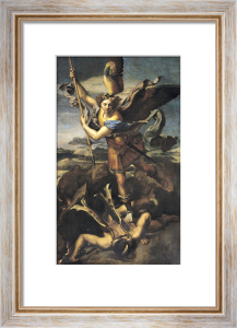St. Michael Overwhelming the Demon 1518 by Raphael