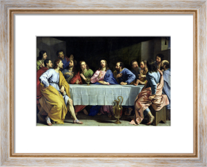 The Last Supper 1648 by Philippe de Champaigne