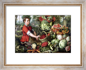 The Vegetable Seller by Joachim Beuckelaer