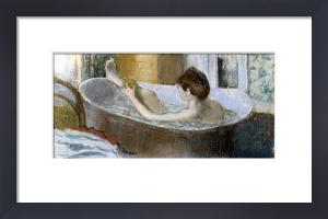 Woman in her Bath Sponging her Leg c.1883 by Edgar Degas