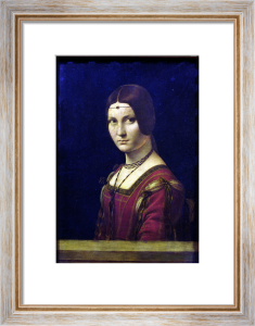 Portrait of a Lady from the Court of Milan, c.1490 by Leonardo da Vinci