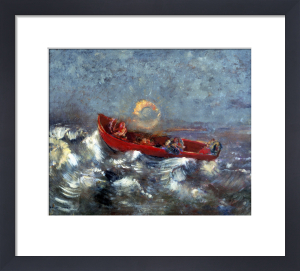 The Red Boat 1905 by Odilon Redon