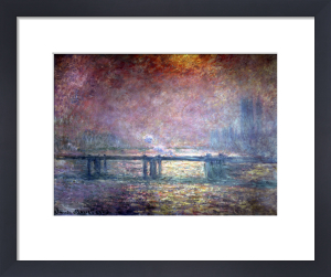 The Thames at Charing Cross 1903 by Claude Monet