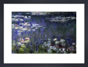 Waterlilies - Green Reflections, 1914 by Claude Monet