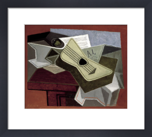Guitar and Newspaper 1925 by Juan Gris