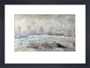 Frost near Vetheuil 1880 by Claude Monet