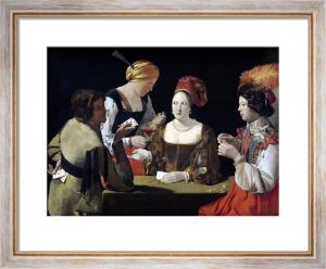The Cheat with the Ace of Diamonds, c.1635 by Georges de La Tour