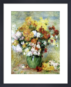 Bouquet of Chrysanthemums, c.1884 by Pierre Auguste Renoir