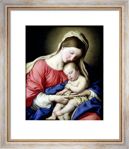 Virgin and Child by Sassoferrato (Giovanni Battista Salvi)