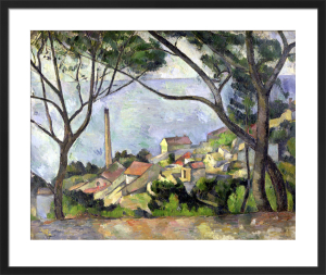 The Sea at l'Estaque, 1878 by Paul Cezanne