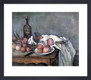 Still Life with Onions, c.1895 by Paul Cezanne