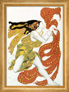 Costume Design for a Bacchante in 'Narcisse' by Tcherepnin, 1911 by Leon Bakst