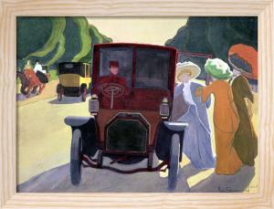The Road with Acacias 1908 by Roger de la Fresnaye