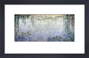 Waterlilies' Morning with Weeping Willows 1915 (II) by Claude Monet