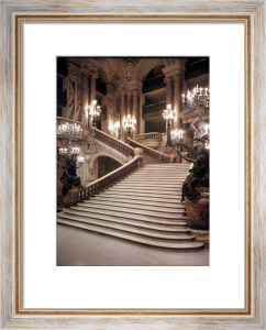 The Grand Staircase of the Opera-Garnier 1860 by Charles Garnier
