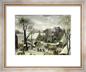 The Census at Bethlehem by Pieter Brueghel The Elder