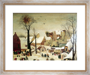 The Census at Bethlehem by Pieter Brueghel The Younger