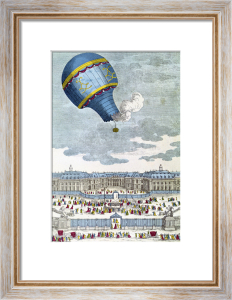 The Ballooning Experiment at the Chateau de Versailles 1783 by French School