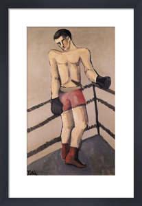 The Large Boxer by Helmut von Hugel Kolle