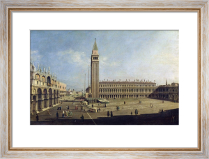 Piazza San Marco, Venice by Giovanni Canaletto