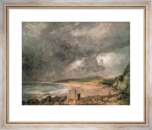 Weymouth Bay with Approaching Storm by John Constable