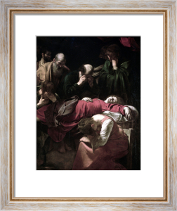 The Death of the Virgin 1605 by Michelangelo Merisi da Caravaggio