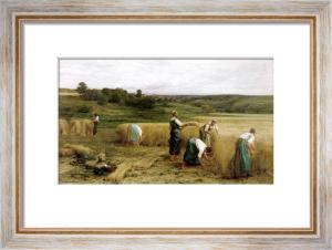 Harvest 1874 by Leon Augustin L'Hermitte
