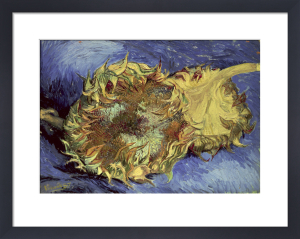 Sunflowers 1887 by Vincent Van Gogh
