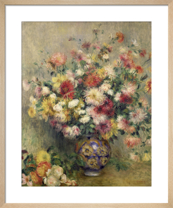 Dahlias by Pierre Auguste Renoir