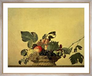 Basket with Fruit, c.1596 by Michelangelo Merisi da Caravaggio