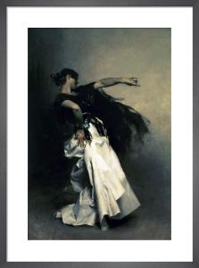 The Spanish Dancer study for 'El Jaleo', 1882 by John Singer Sargent